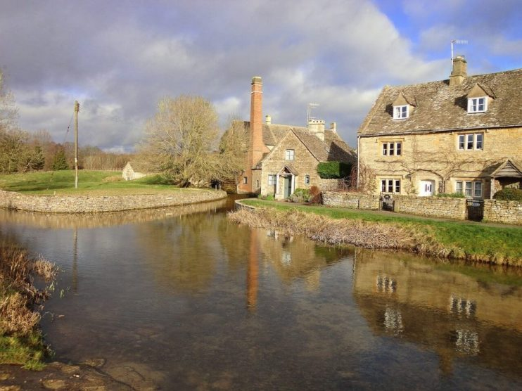 Lower and Upper Slaughter are some of the prettiest villages in the Cotswolds
