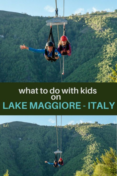 Lake Maggiore in North Italy is full of stuff to do with the kids, including the best zipline at 'Lake Maggiore Zipline'. If you're looking for adventure on your family holiday then you must read this blog post.... #italy #familyactivities #adventure #lakemaggiore #lakegarda #northitaly #familytravel #familyholidays