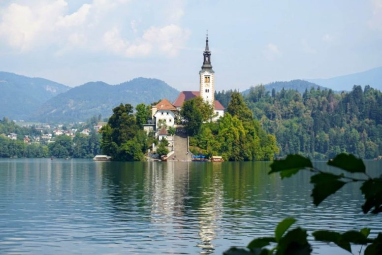 Bled island is the biggest tourist attraction on Lake Bled