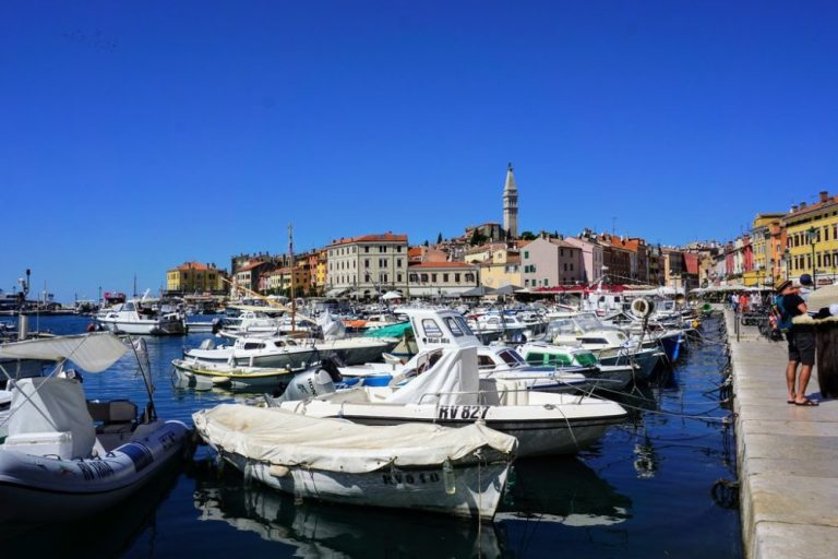 Rovinj is probably the top tourist attaction in Istria, Croatia