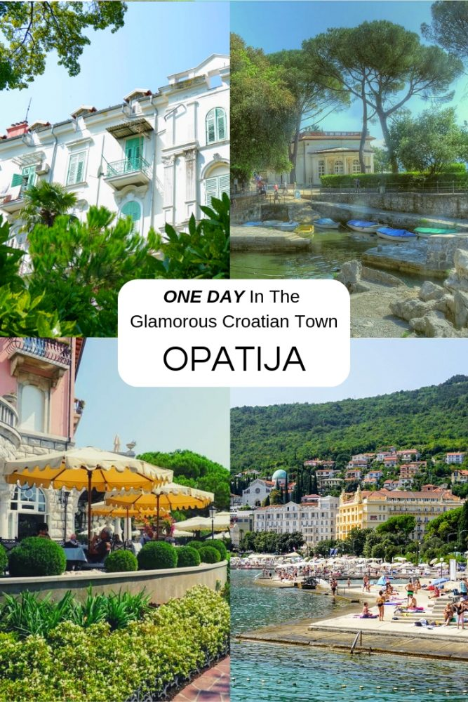 Istria is full of charming little Croatian towns but none quite so glamorous as Opatija on the Kvarner Gulf.  Beautiful architecture, landscaped parks and award winning beaches mean there is plenty to do and see in Opatija and we have the lowdown for you here - a definite day trip if you are in Istria, Croatia. #Opatija #Istria #Croatia #BestEurope