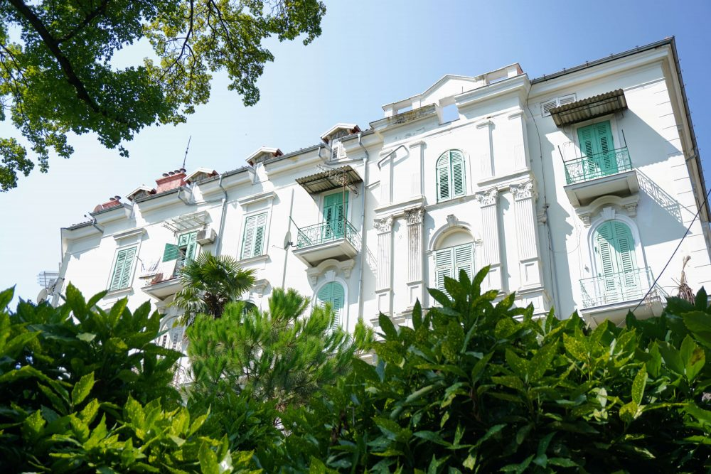 Things to see in Opatija - this side of Istria has some beautiful architecture in the Belle Epoque style