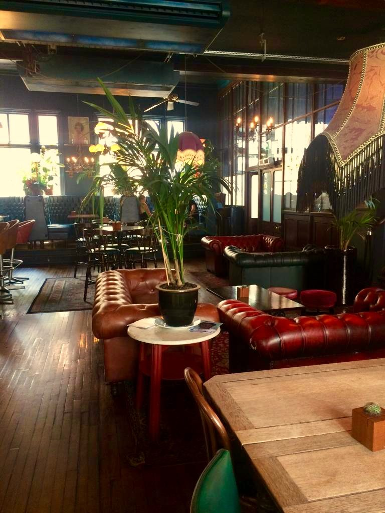 One of the coolest bars in Nottingham - the Hockley Arts Club
