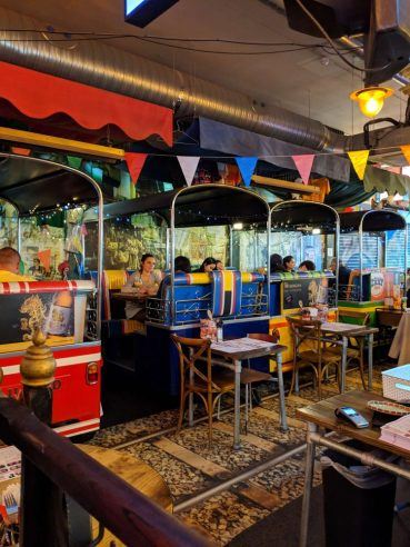 zaap, nottingham - one of the coolest places to eat with kids