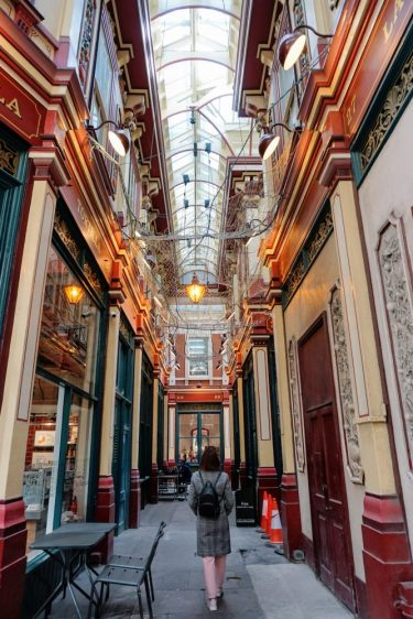 Leadenhall market - off the beaten path near tower bridge Lodnon