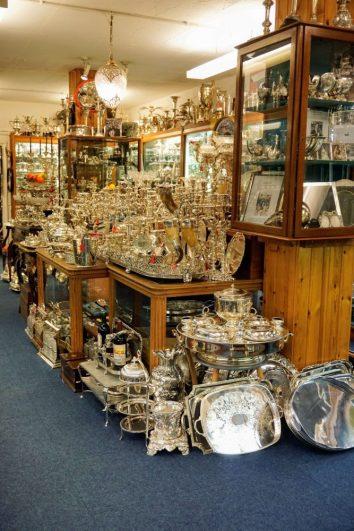 one of Londons hidden gems - the London Silver Vaults
