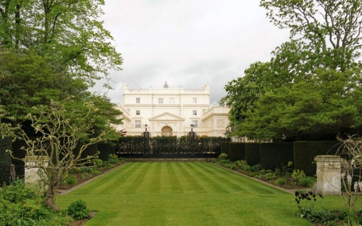 the sultan of Bruneis secret garden in london - a real hidden gem