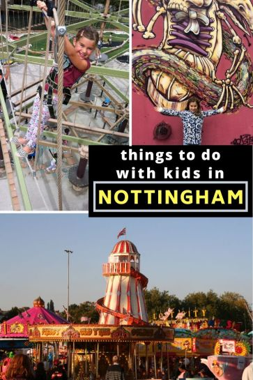 There are lots of things to do with kids in Nottingham - it's a great family-friendly city. #Nottingham #England