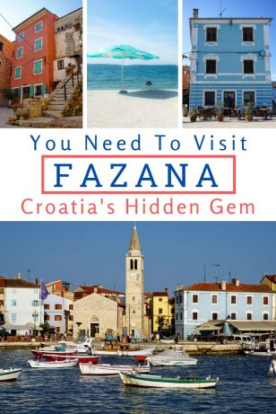 Fazana, Istria is one of Croatia's most beautiful towns and is the perfect place to stay for a family holiday. Check out all the things to do there... #Fazana #Istria #Croatia