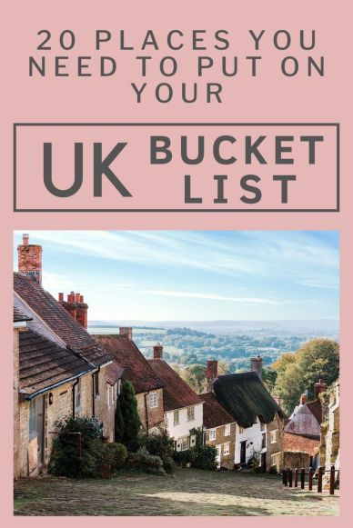 Great ideas for a UK mini-break, romantic england, family friendly, hen-do's, adventure travel and much more #englandtravel #uktravel