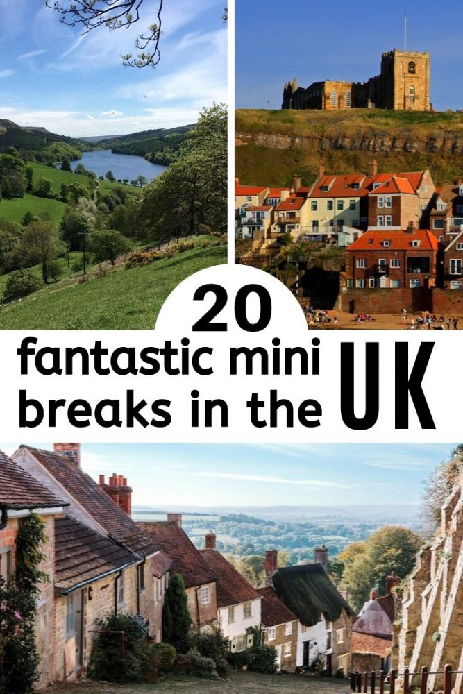 20 of the best UK weekend break ideas, some popular favourites, some unique hidden gems. Our list of some of the best places to visit in the UK whether with the family, for an adventure break, a city break or a girly weekend - we've got you covered... London | Cotswolds | Suffolk | Northumberland | Manchester | Kent | York | Norfolk | Lake District #weekend #uk #England
