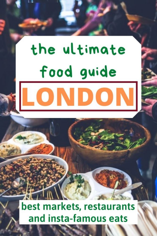 All the best places to eat in London - markets, posh places, instaworthy treats, brunch spots and more. #London #Food