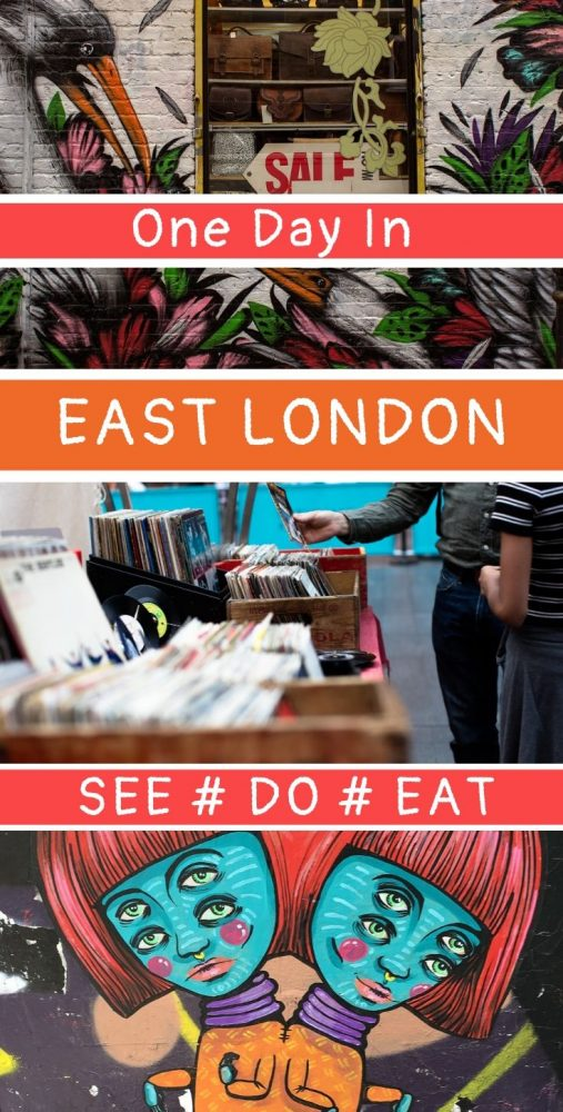 Spitalfields, Brick Lane, Shoreditch - all great neighbourhoods of London but you're going to want to know the low-down if you want to make the most of a day trip to the area. East London travel guide #London #Spitalfields #Bricklane
