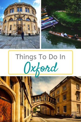 Things to do in Oxford - all the best places, cool museums, great markets and activites for your Oxford day trip #Oxford #England