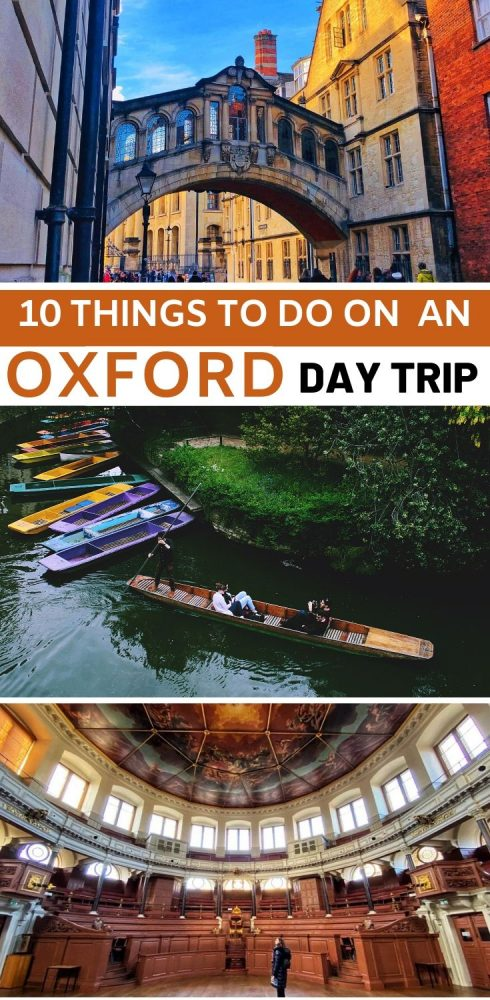 The best things to do in Oxford in a day. Highlights, tips and food suggestions for one of Englands prettiest cities #Oxford #England #UK