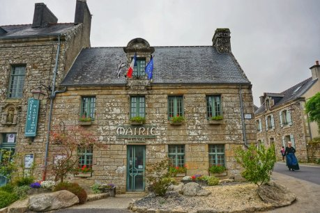 town hall Locronan, Brittany - best places
