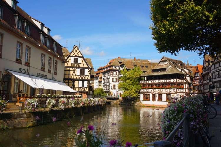 strasbourg's pretty area - Petite-France