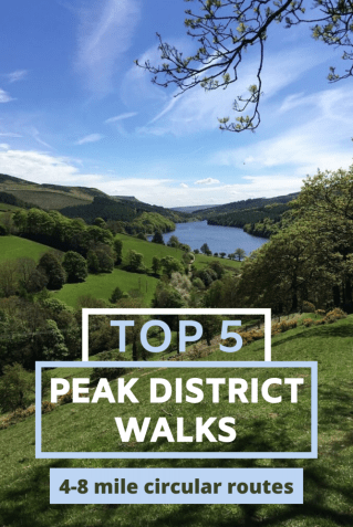 Top 5 Derbyshire Peak District walks for everyone. We've picked our favourite hikes with the best views, the best pubs and family friendly. #Derbyshire #Peakdistrict #england