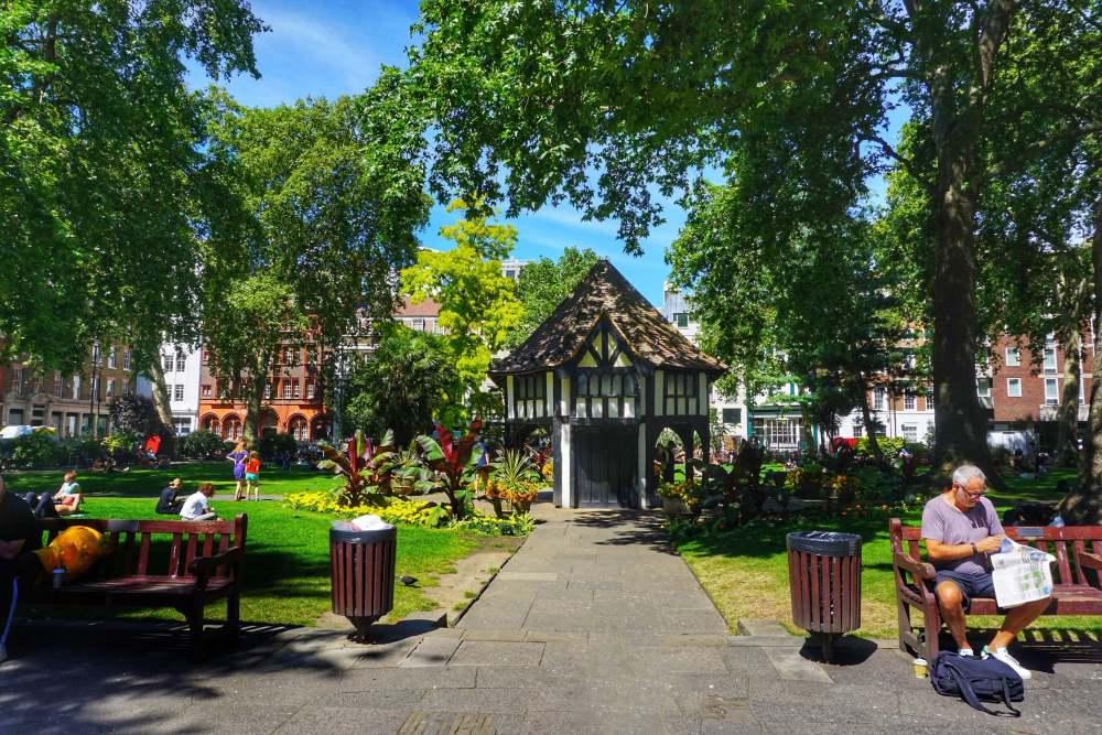 Soho Square Gardens, London secret