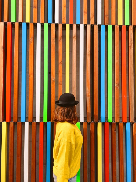 Leeds things to do - visit the Docks and check out some of the colourful art on show