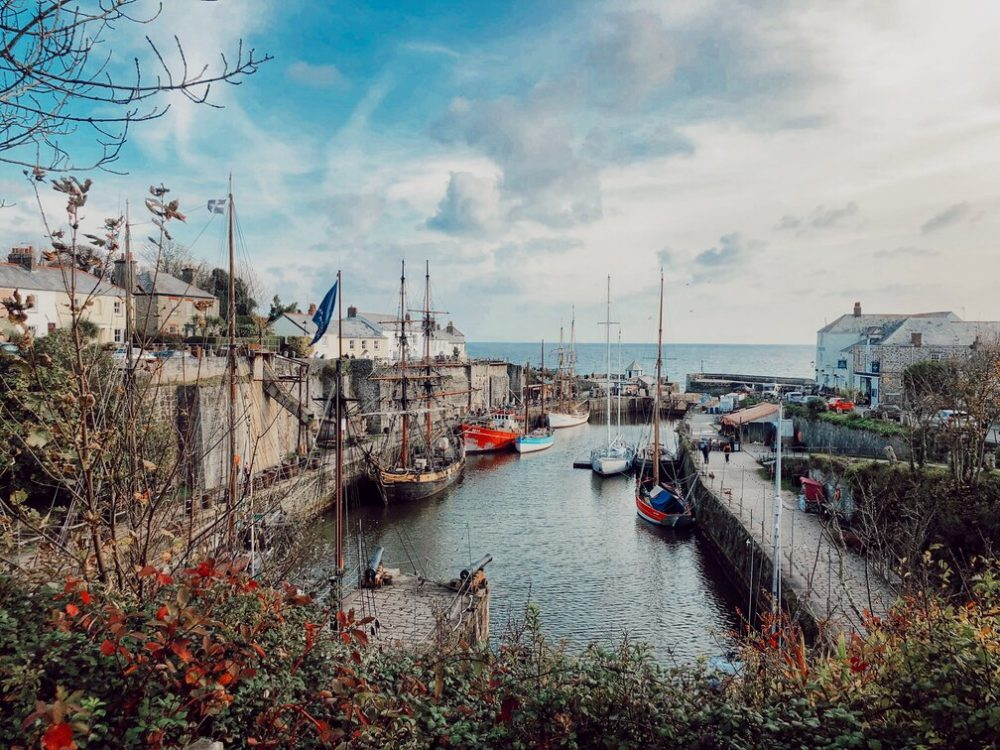 Spending a weekend in Cornwall? Visit Charlestown where Poldark was filmed for the perfect harbourside Cornwall experience