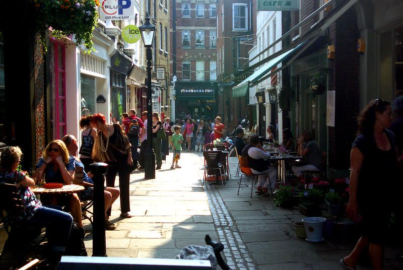 Flas Walk Hampstead Village, London