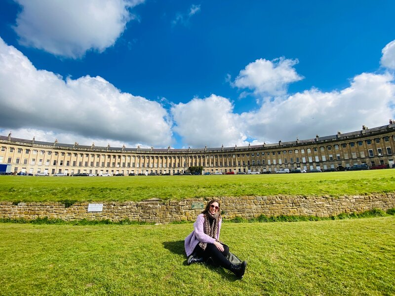 things to see in Bath, UK - the royal crescent