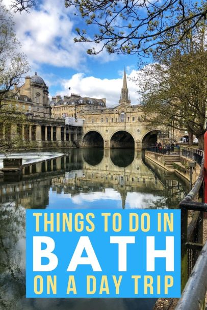 Taking a day trip to Bath? Things to do, places to see and food to eat all in our handy travel guide! #Bath #UKcity #England #cotswolds