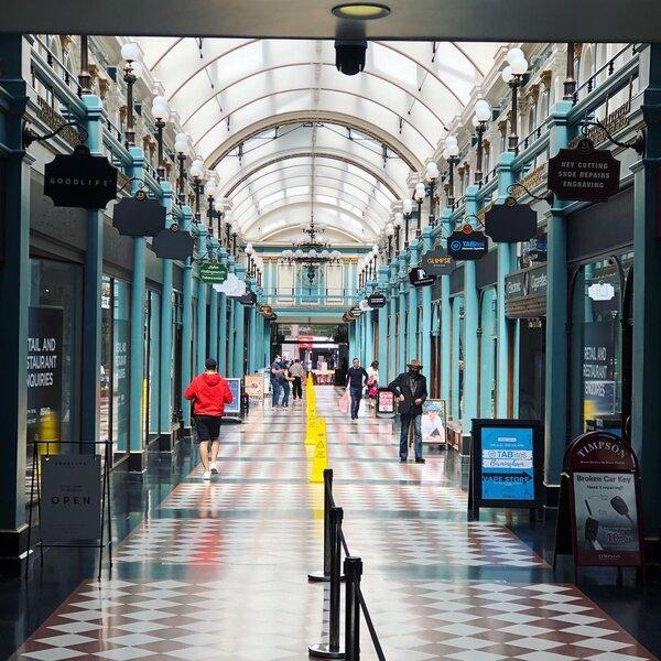 Birmingham tourist attraction - the Victorian Arcade