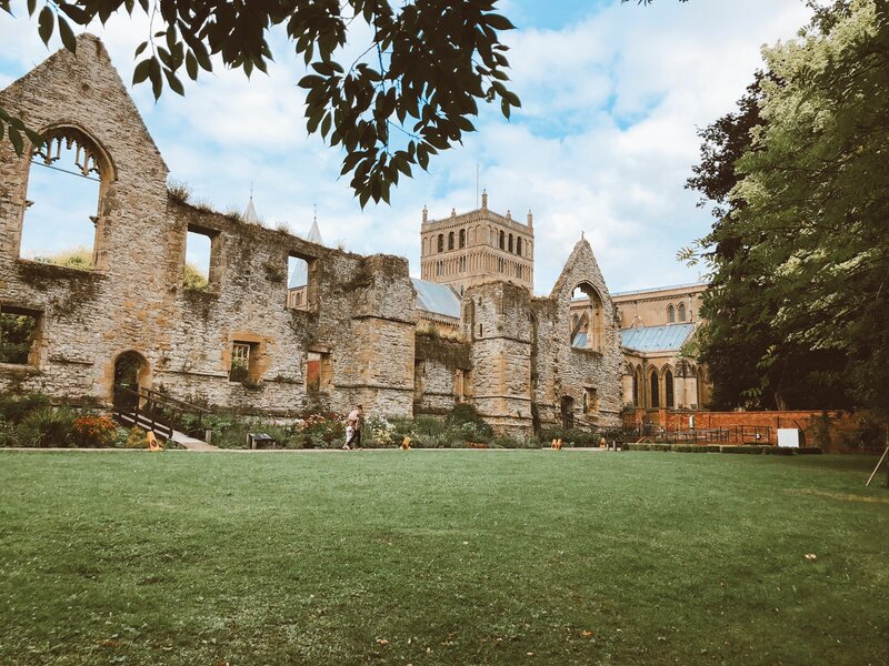 Visit Southwell Palace ruins on a Southwell day trip