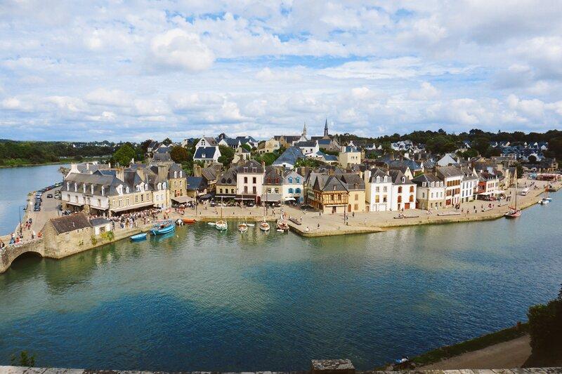 Auray Saint Goustan port