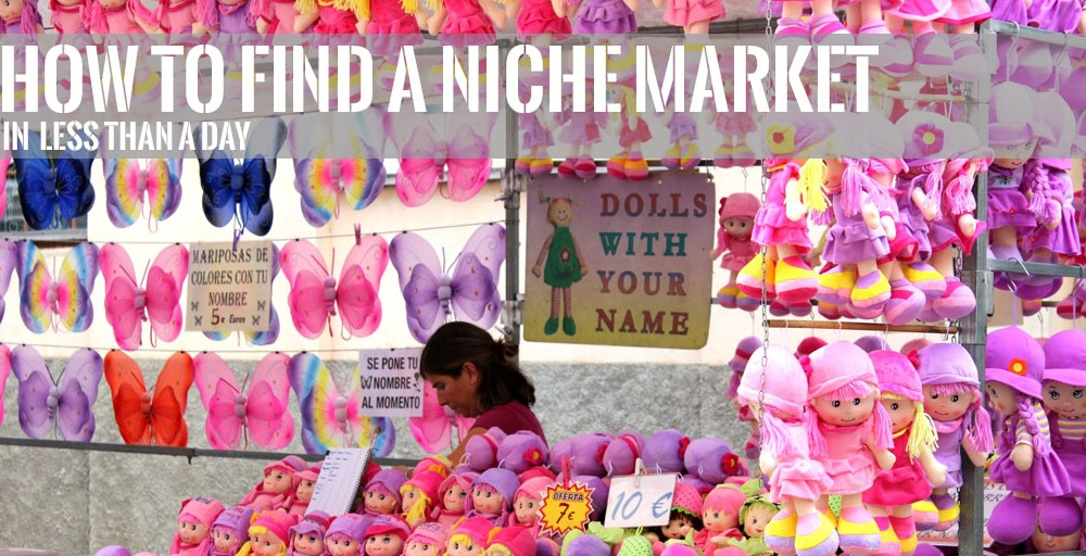 How to Find a Niche Market in Less than a Day