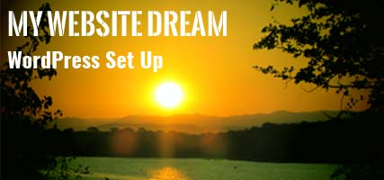 Website Dream WordPress Setup