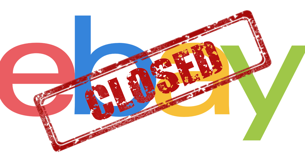 Ebay Shop Closed