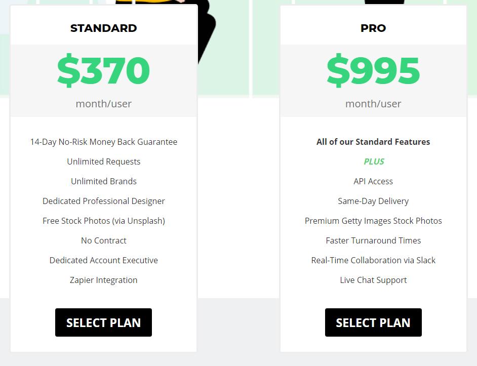 Design Pickle Pricing Plans