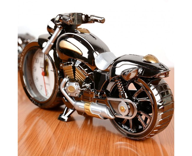 Motorcycle Alarm Clock Motor Table For Home Decor