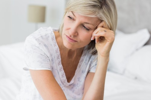 woman with interstitial cystitis