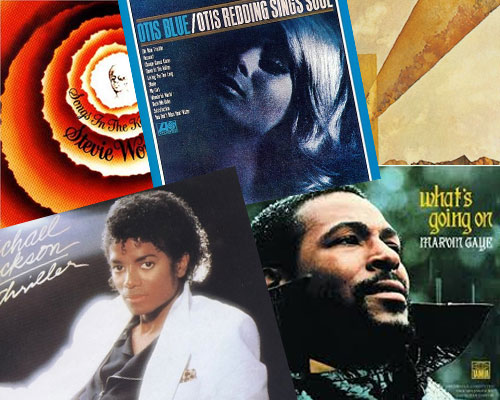 Top Rhythm and Blues Music Albums