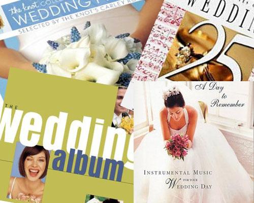 Wedding music albums