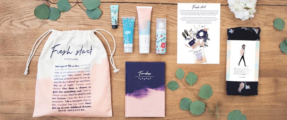 haul boite lettres produits cosmétiques janvier hiver
