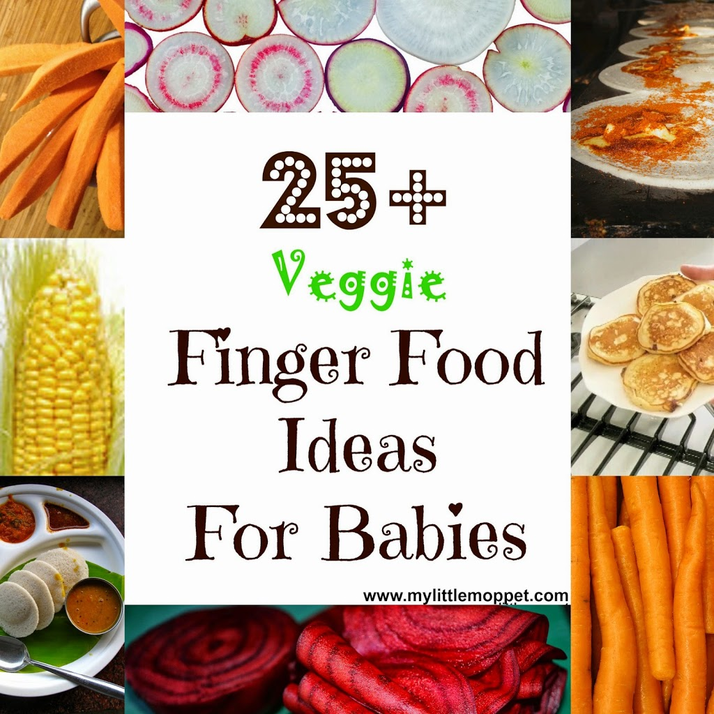 Finger Food For Baby With  Teeth