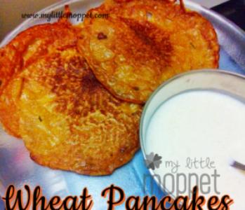 Wheat pancake recipe for kids