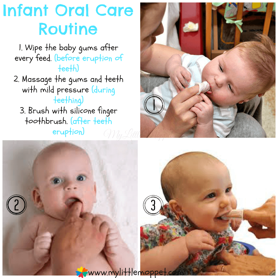 Infant Oral Care Routine
