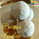 Besan ladoo recipe with jaggery