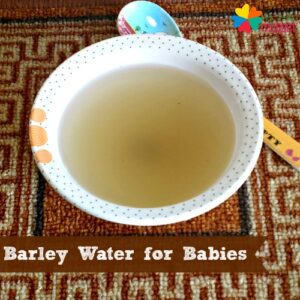 how to make barley water for babies