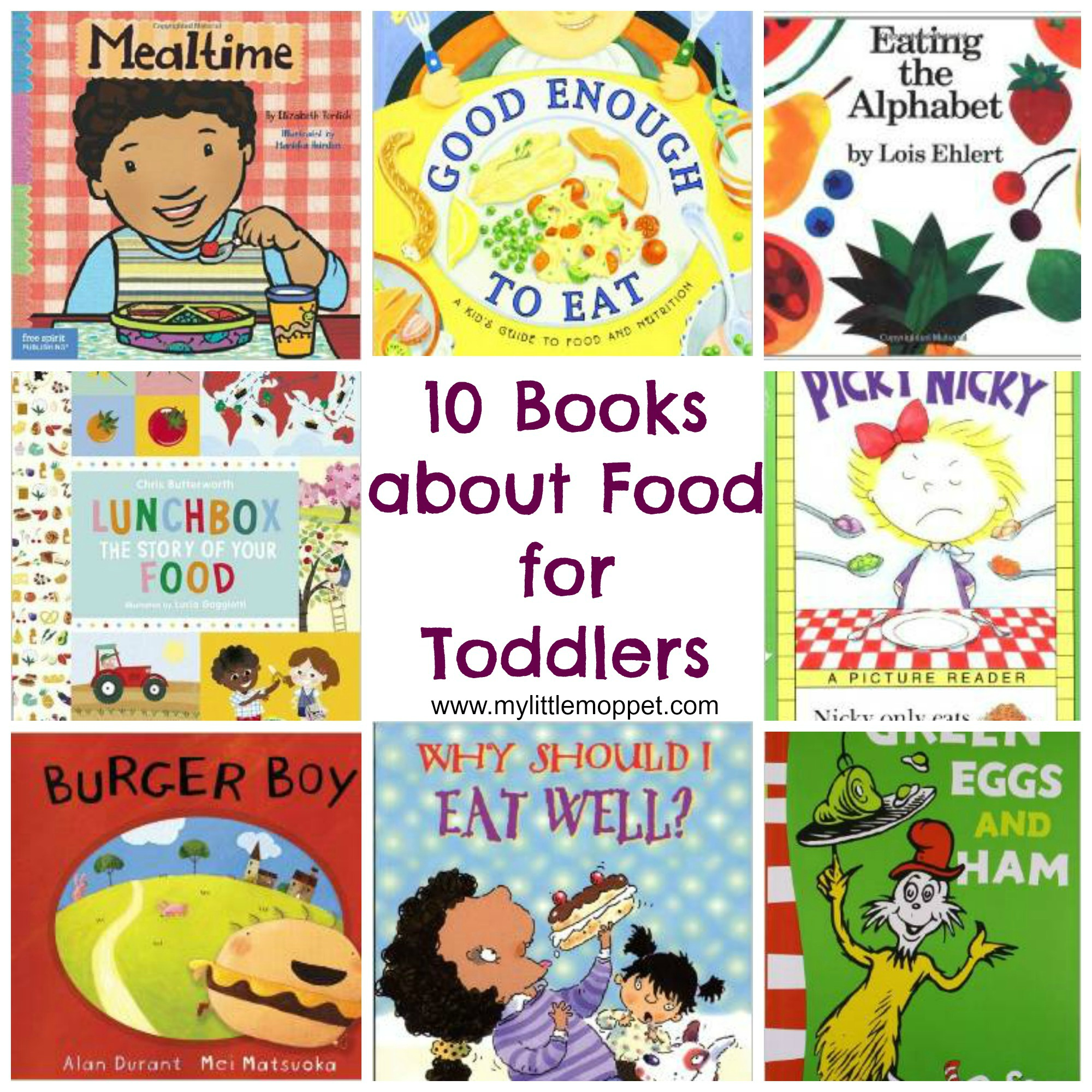 10 Must Read Books On Healthy Food For Toddlers