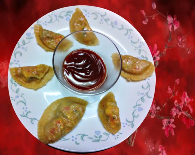Whole Wheat Vegetable Momos Recipe for kids