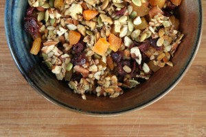 Chocolate Trail mix recipe for kids