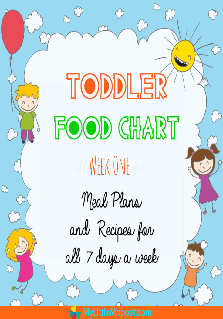 Indian Toddler Food Chart with recipes