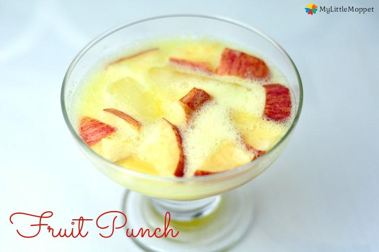 Easy fruit punch recipe
